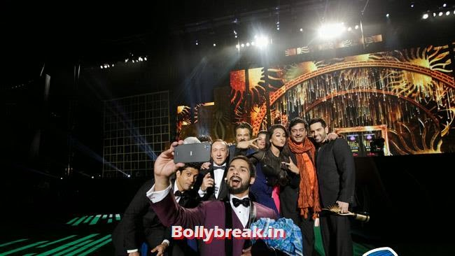 Farhan Akhtar, Shahid Kapoor, Kevin Spacey, Sonakshi Sinha and Shatrughan Sinha, IIFA Awards 2014 Pics