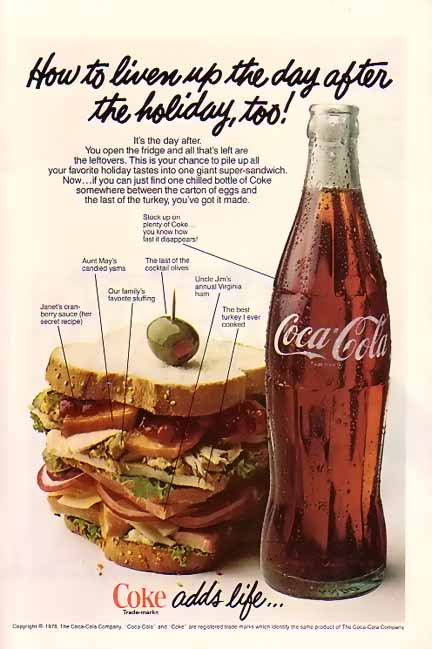 Vintage Advertising 1970 S Coke Ads