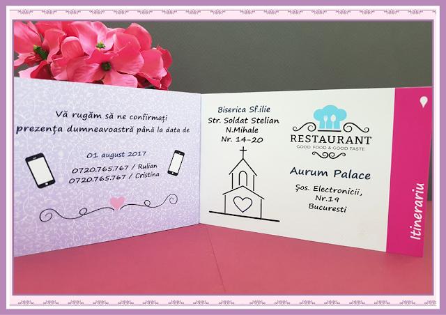 Invitatii Nunta Poveste de Nunta 12