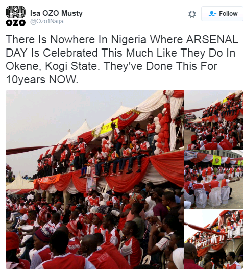 It's 10 Years Today: Check out photos from Arsenal day celebration in Kogi state