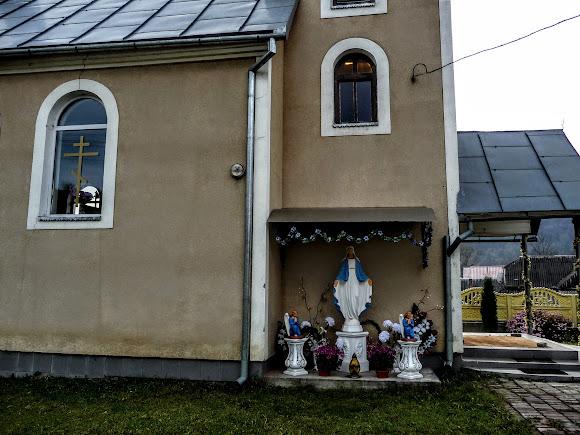 Горные сёла Закарпатья: Павлово. Церковь Илии Пророка