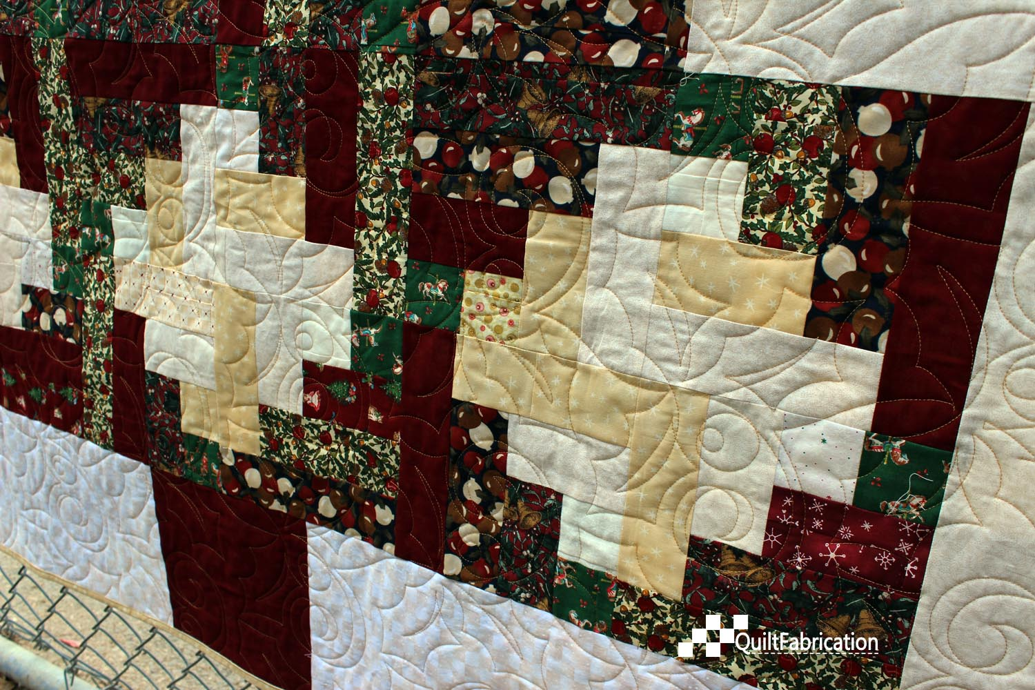 Very Impressive portraiture of For more posts about this quilt see Which Do You Like? A Christmas  with #2A1610 color and 1500x1000 pixels