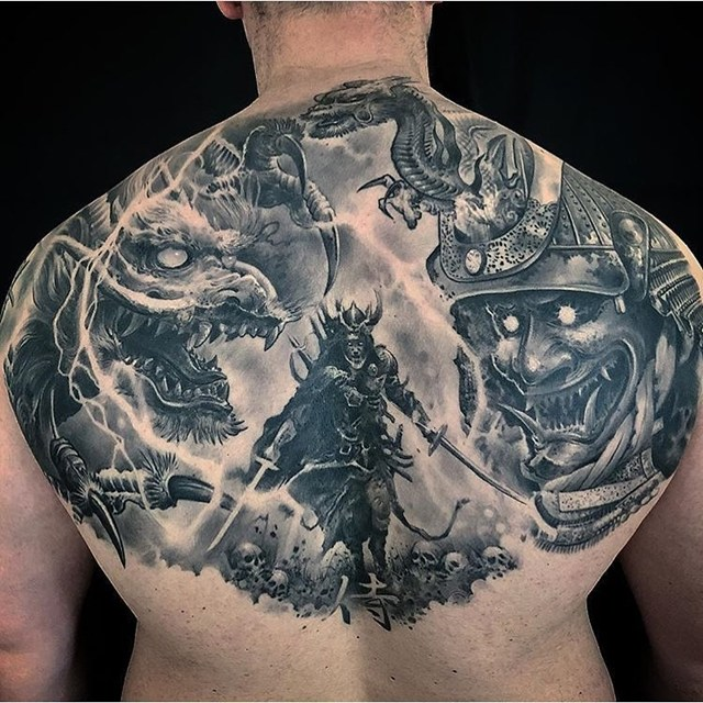 Gambar Dragon Tattoo Terbaru Untuk Inspirasi Tato Tubuh