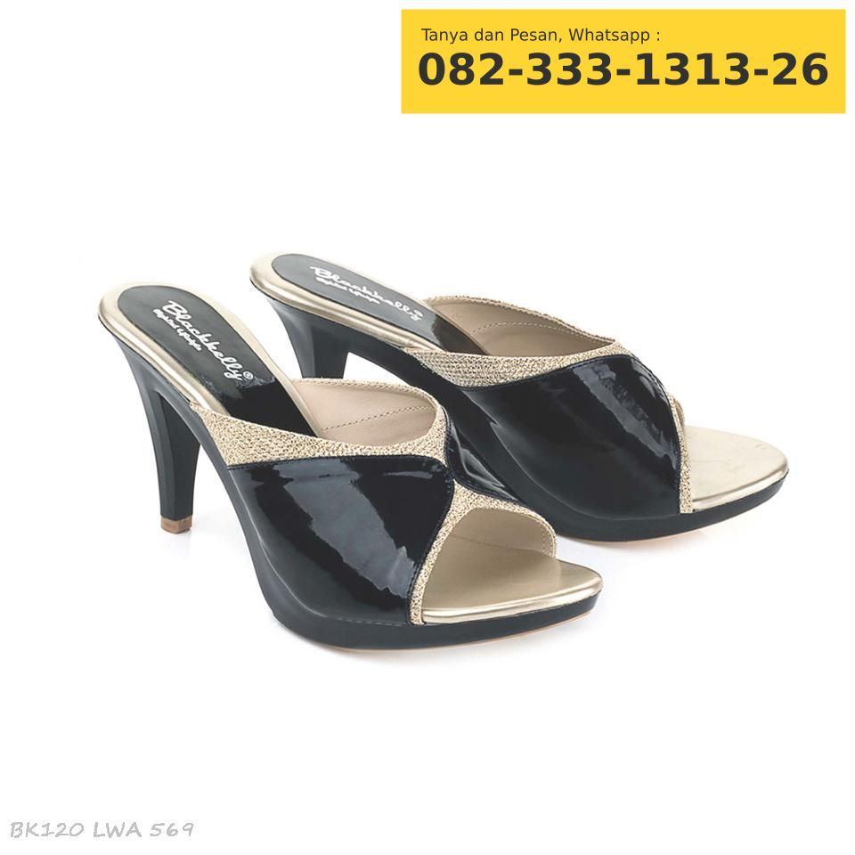 Sepatu Sendal High Heels Wanita Krem - Daftar Harga Terbaru dan ... b59e5b1c9e