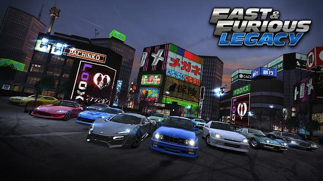 تحميل لعبة السباقات فاست اند فوريوس Fast Furious legacy v3.0.2 السرعة والغاضب اخر اصدار