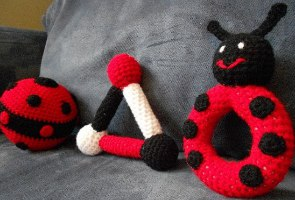 Crochet ladybug - Free Pattern: Quick and Easy | 200x295