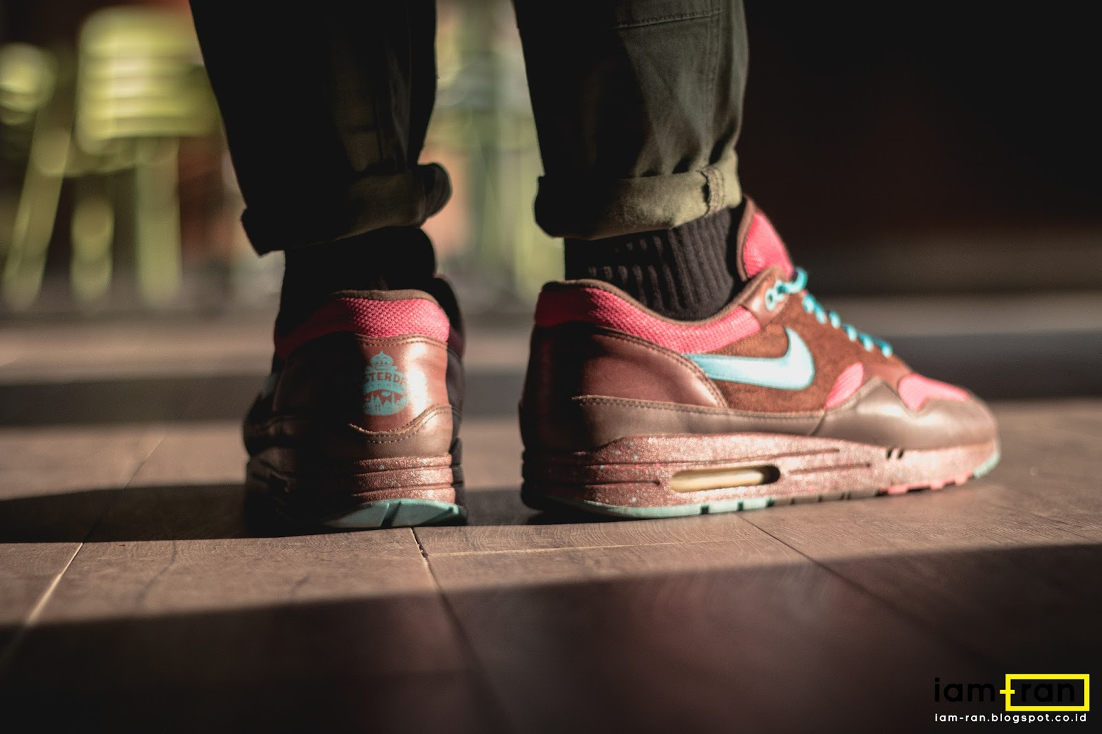 IAM RAN: ON FEET : Dimas Indro Nike Air Max 1 X Patta X