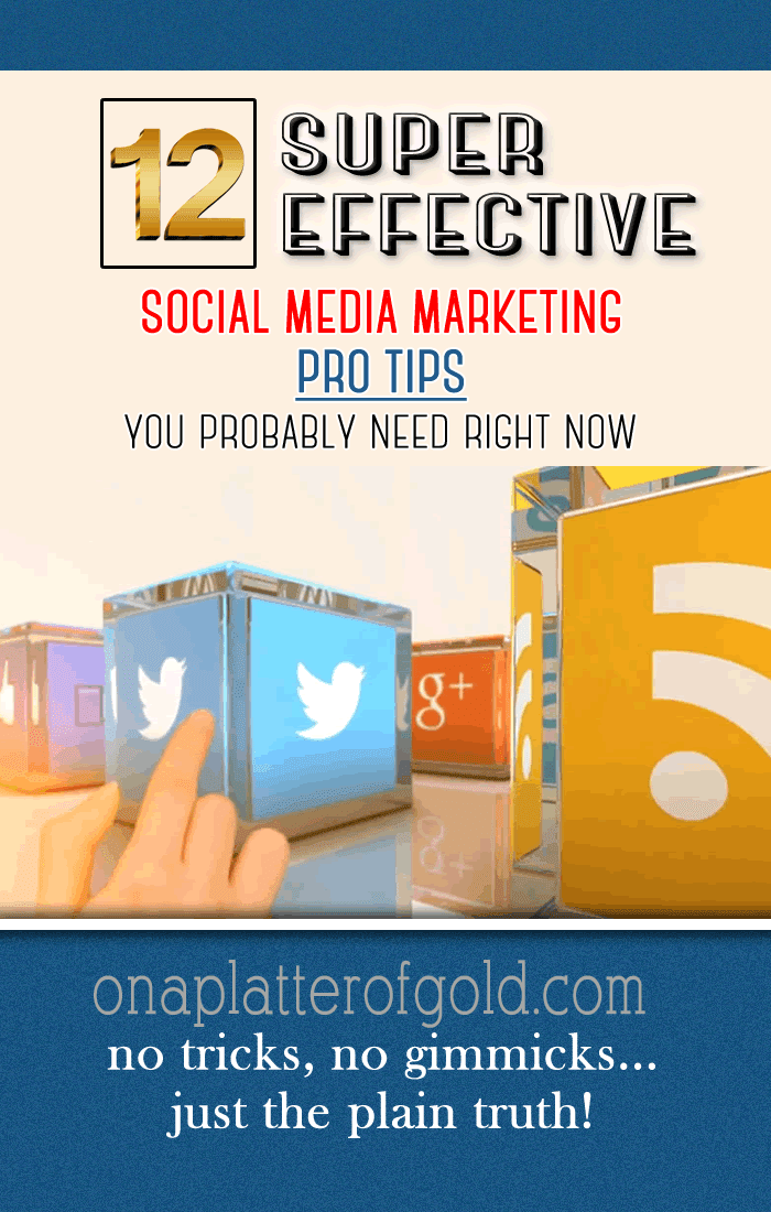 12 Pro Tips For An Effective Social Media Marketing Strategy