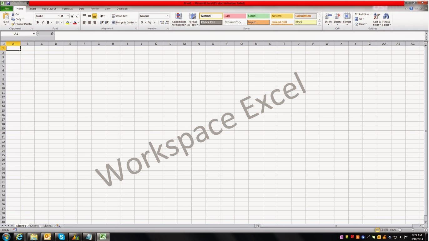 Cara Menghilangkan Gridlines Ms Excel