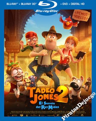 Tadeo Jones 2: El secreto Del Rey Midas (2017) HD 1080P Latino