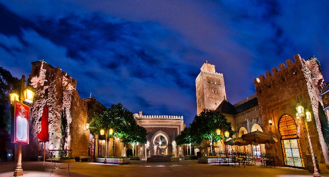 Pavilhão do Marrocos no Epcot em Orlando