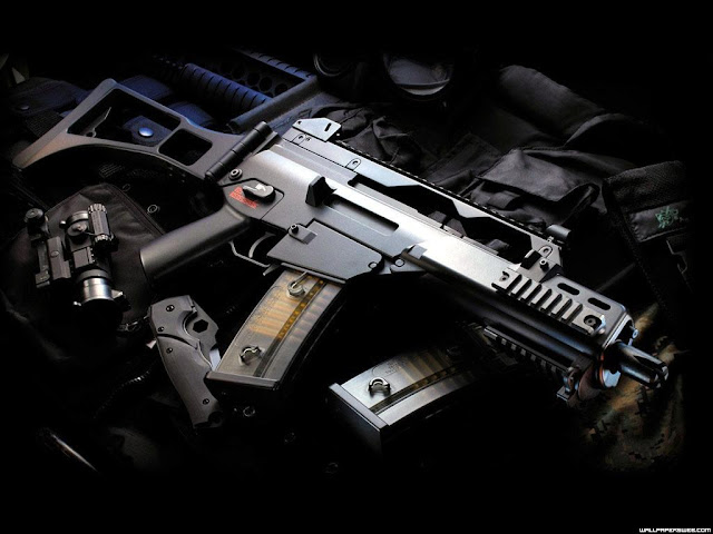 Airsoft Gun M4 Guns & Weapons: Cool Guns Wallpapers #2