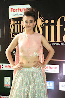 Akshara Haasan in Peachy Crop Top Choli Skirt at IIFA Utsavam Awards 016.JPG