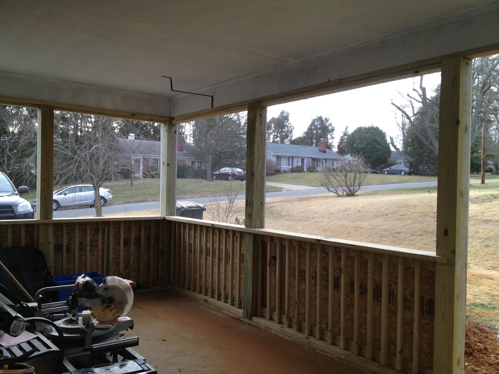 Framing Gravel Driveway