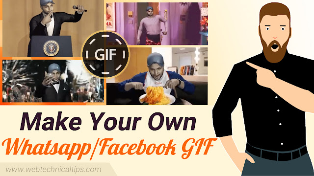 How to make your own Whatsapp & Facebook Gif Animation