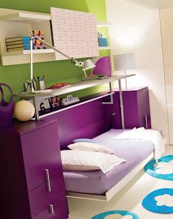 cama plegable escritorio hacia arriba