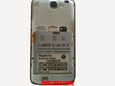 Rom gốc Skyphone HD9500 mt6589 alt