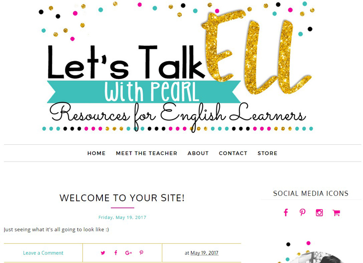 Let's Talk ELL with Pearl