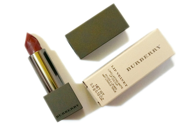Burberry Lip Velvet Long Wear Lipstick in Oxblood No. 437