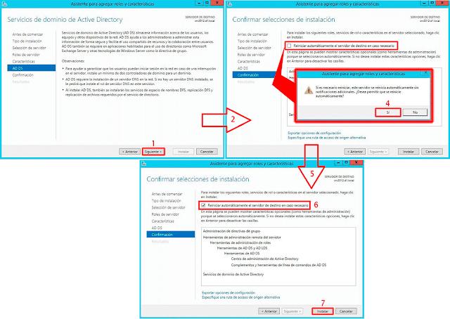 Si es necesario reiniciar, este servidor reiniciará automáticamente sin notificaciones adicionales. ¿Desea permitir que se reinicie automáticamente?