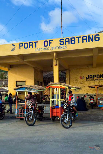 Port of Sabtang, Batanes