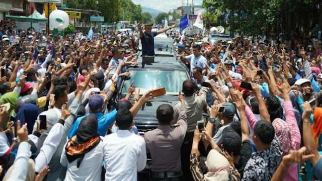 Pecahhh...! Bima NTB 'Milik' Prabowo-Sandi