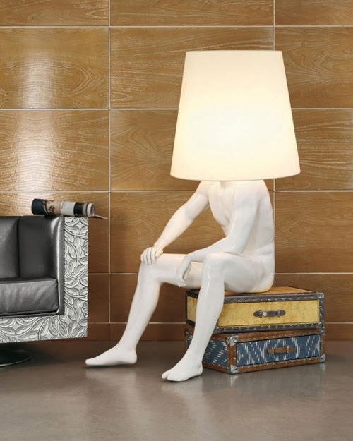 Lumin rias inspiradas em figuras humanas tecnotc for Mobilia anos 40