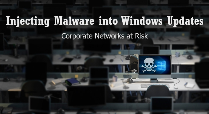 Windows Updates Can be Intercepted to Inject Malware into Corporate Networks