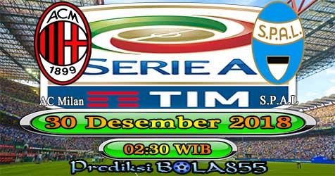 Prediksi Bola855 AC Milan vs Spal 30 Desember 2018