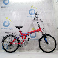 20 united quest carrier folding bike