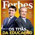 Paraibano natural de Santana dos Garrotes estampa capa da revista Forbes pela primeira vez na história