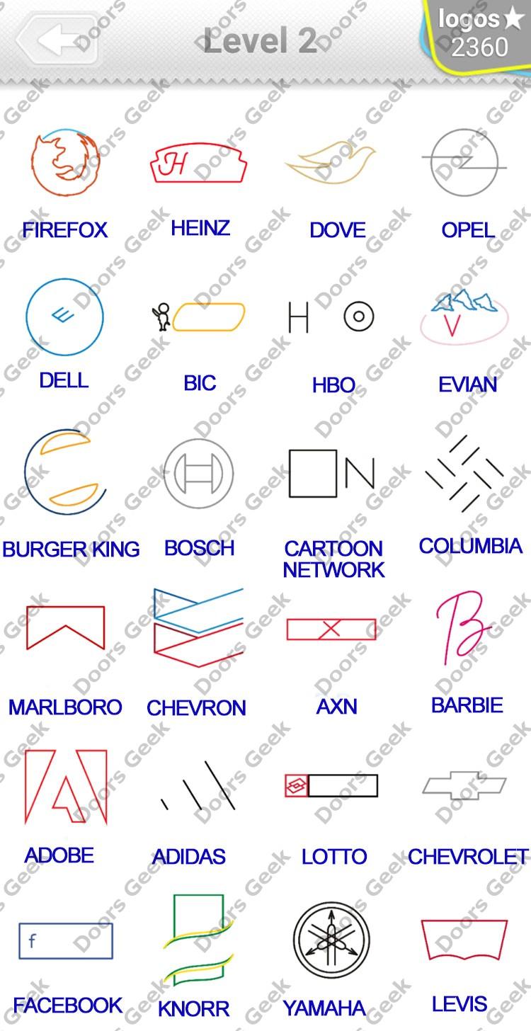 logo quiz minimalist niveau 5