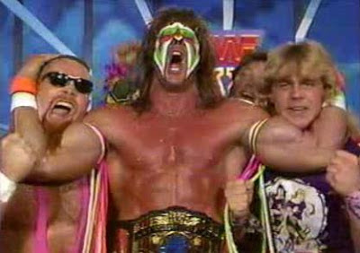 WWF / WWE SURVIVOR SERIES 1989 - The Ultimate Warrior's team