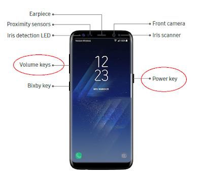 Master Reset Galaxy S8/S8+
