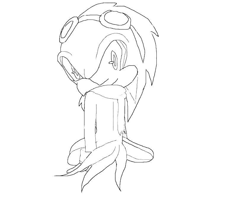 Sonic Generations Jet The Hawk