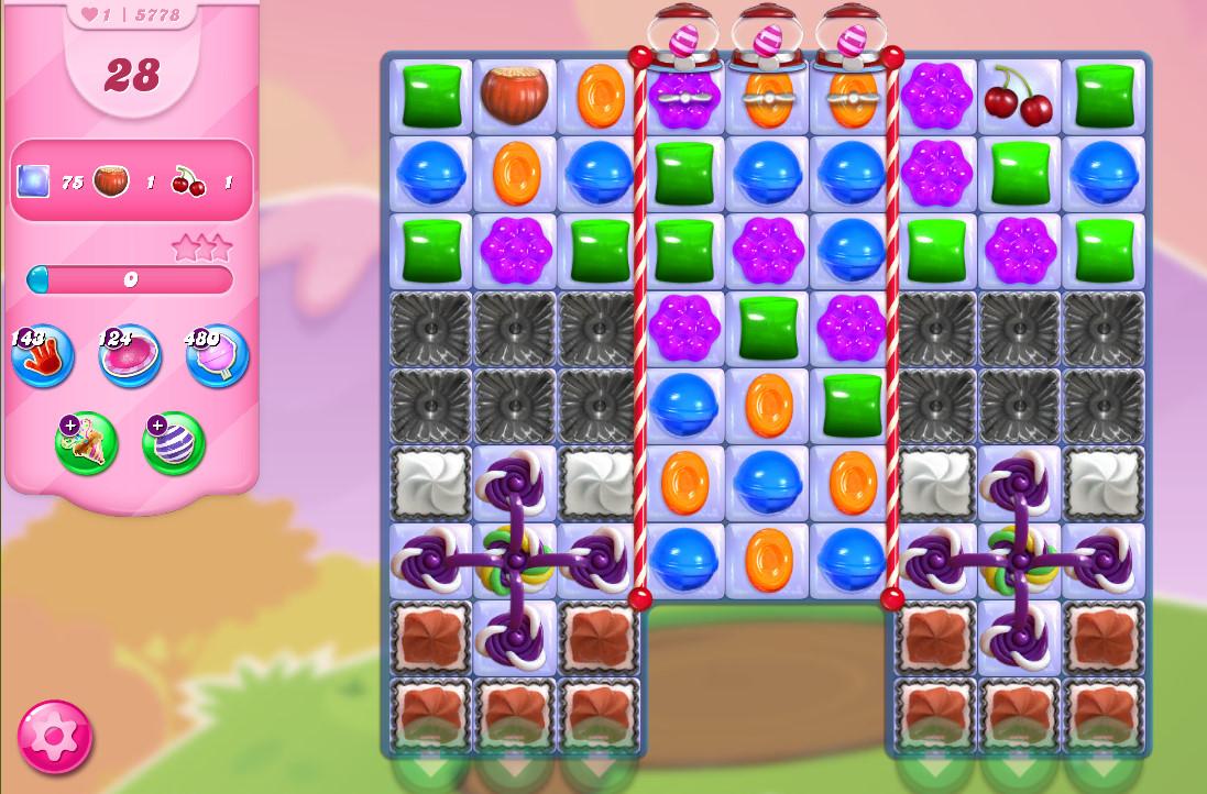 Candy Crush Saga level 5778