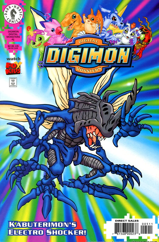 Digimon porno komiks