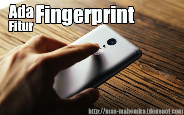 fitur Fingerprint pada xiomi 2017