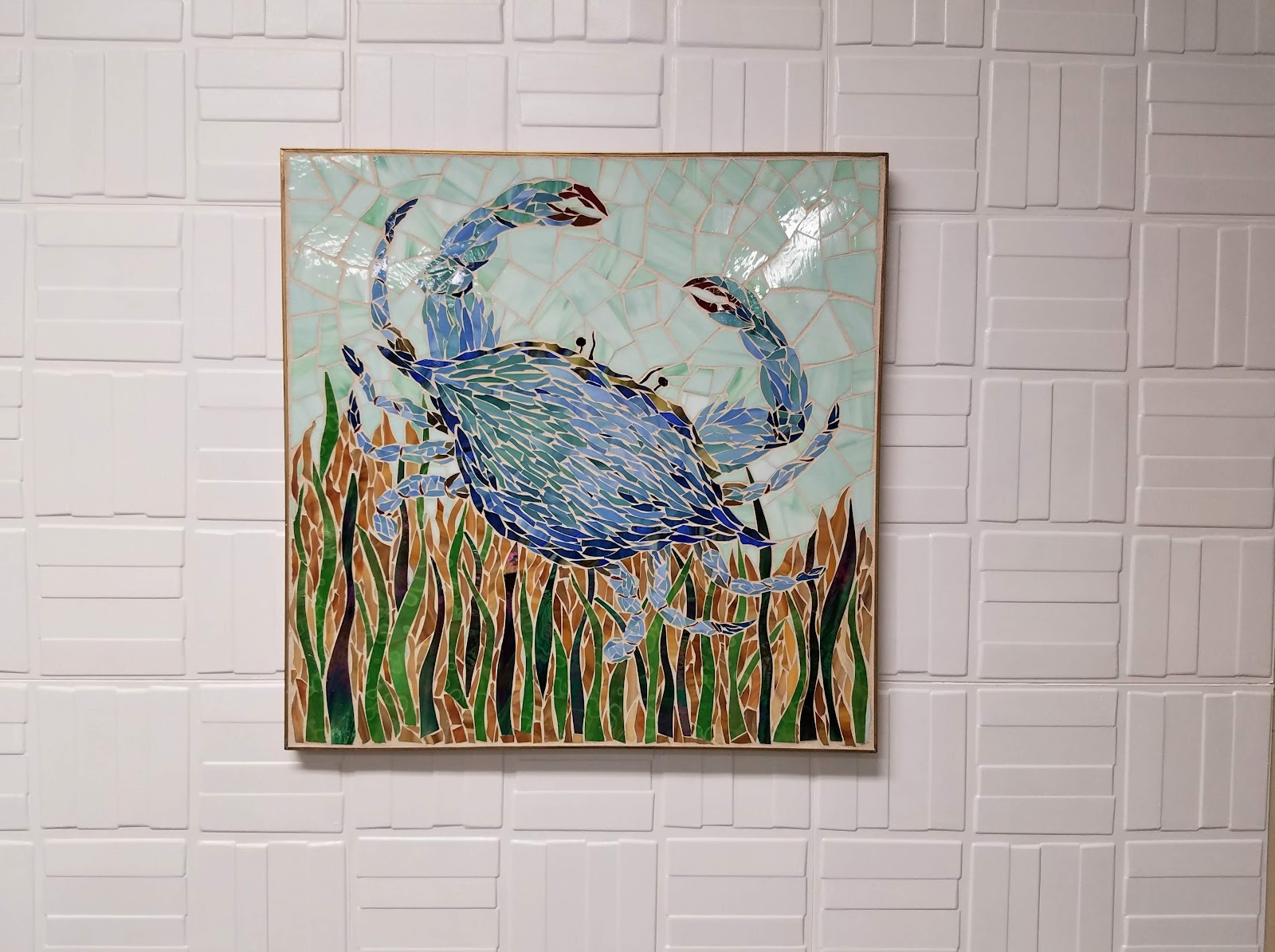 Best using wall panels for art wall