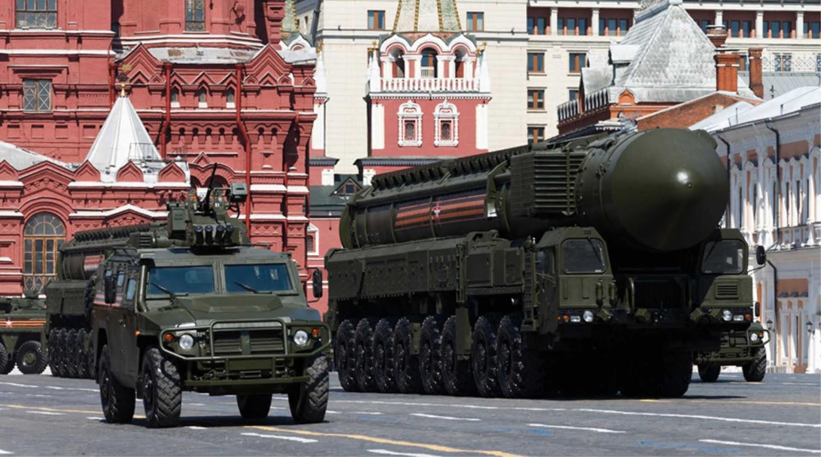 Pentagon meramalkan puncak kekuatan militer Rusia dan Cina