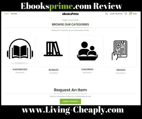 EbooksPrime com review - Legit or Scam Cheap Ebook Seller? | Living