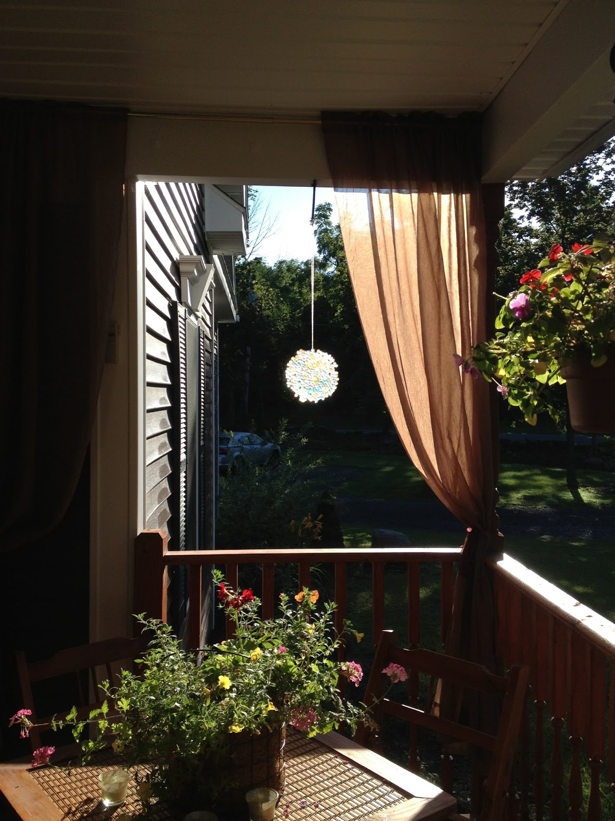 Happy House And Home Diy Sun Catcher