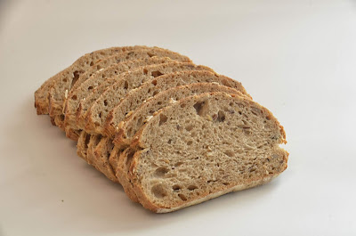 Bread contains fiber, carbohydrates, and other essential nutrients which are good for our health