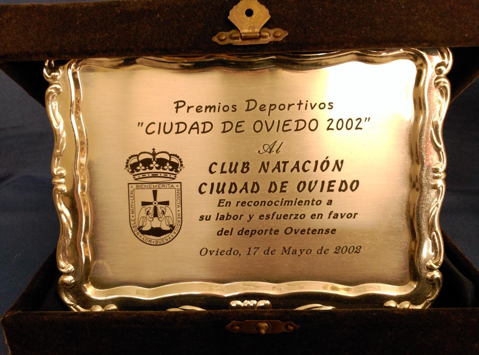 Club nataci n ciudad de oviedo coleccion de trofeos en la for Oficina empleo oviedo