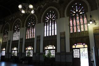 estación modernista de Toledo