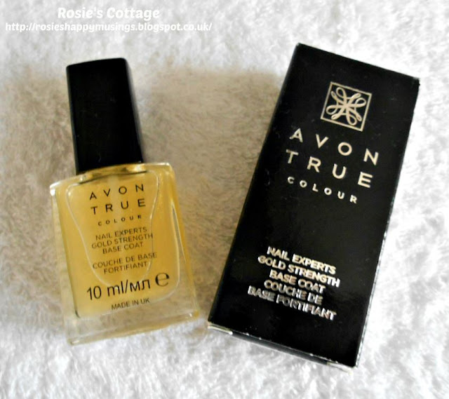 Avon True Nail Experts - Gold Strength Base Coat