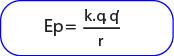 Rumus energi potensial disuatu titik dalam medan listrik