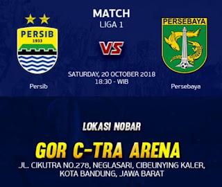 Persib vs Persebaya: Manajemen Gelar Nobar Bersama Bobotoh di GOR C-Tra Arena