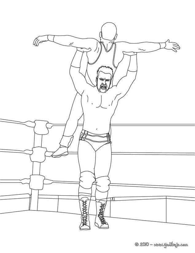 Elazotevenezolanoelblog: Los grandes de la WWE en dibujos