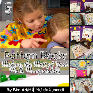 https://www.teacherspayteachers.com/Product/Pattern-Blocks-Math-Activities-by-Kim-Adsit-and-Michele-Scannell-2759456